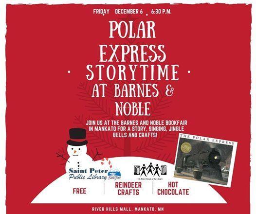 Polar Express Storytime At Barnes Noble Mankato Mankato