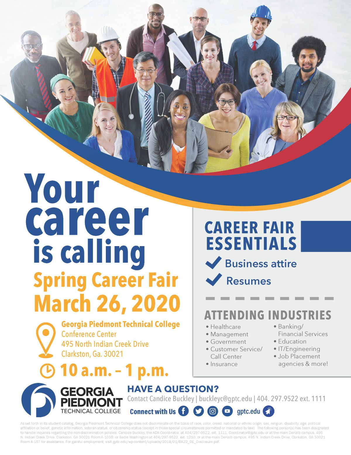 Career Fair Near Me 2020.2020 Gptc Spring Career Fair Vendor Registration At