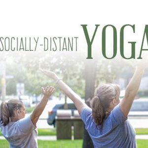 Wellness Wednesdays Socially-Distant Yoga in Perry Square