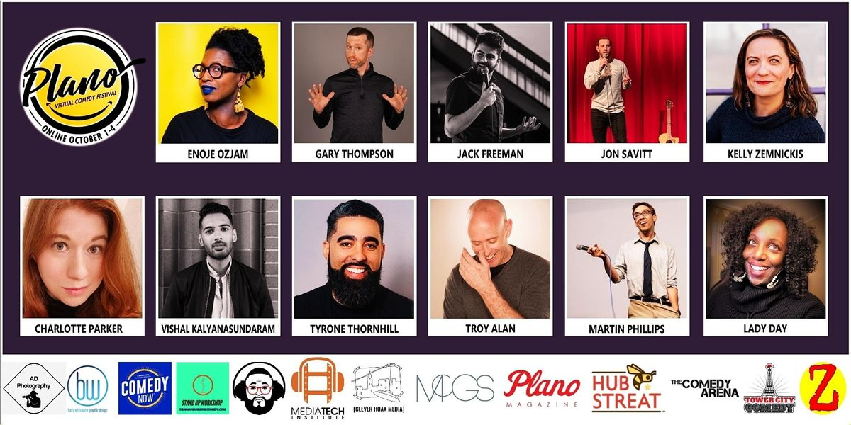 Plano Virtual Comedy Festival - Friday Night Happy Hour Stand-up Show