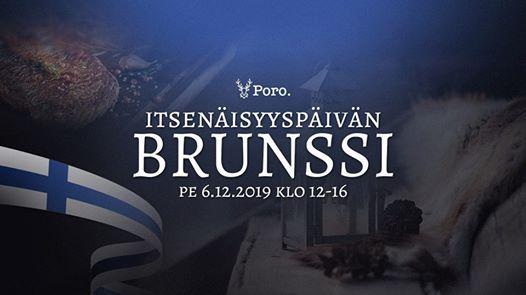 Itsenisyyspivn Brunssi 6.12. at Ravintola Poro