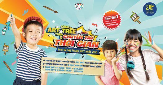 Trại Hè Mỹ Thuật ART TREE Summer Camp 2021, 7 June | Event in Hanoi | AllEvents.in