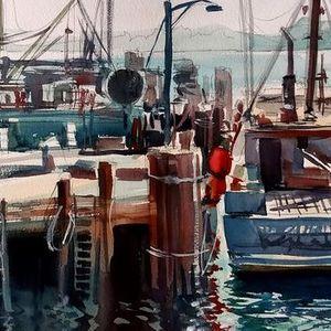 Watercolor Workshop with David Becker
