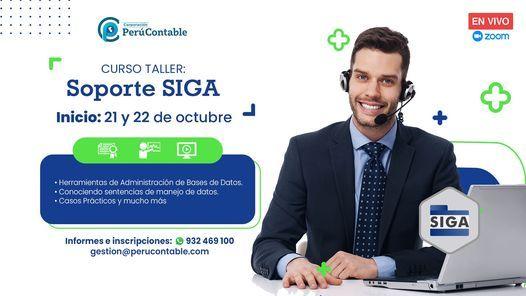 "CURSO TALLER: ""SOPORTE - SIGA"", 21 October   Event in Lima   AllEvents.in"