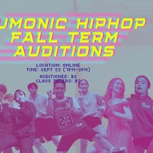 NuMonic Hip Hop 2020 Fall Auditions