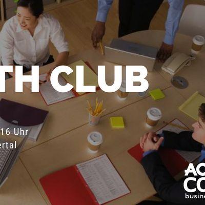 GrowthCLUB - Unternehmensplanung fr KMU Start-Ups und Selbstndige
