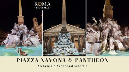 Fontana dei Quattro Fiumi e Pantheon - Alchimia & Archeoastronomia, 7 August | Event in Rome | AllEvents.in