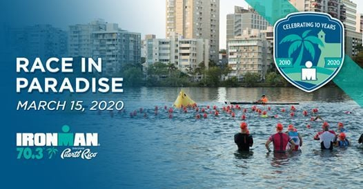 2020 IRONMAN 70.3 Puerto Rico The 10th Anniversary Race
