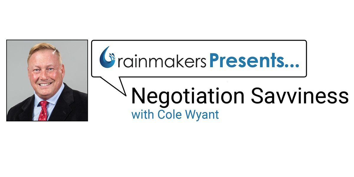Negotiation Savviness | Online Event | AllEvents.in
