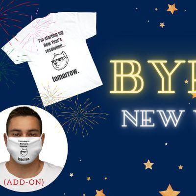 Bye 2020 New Years Eve Virtual Run