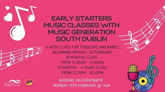 Early Starters Music Classes with Music Generation - 18 ...