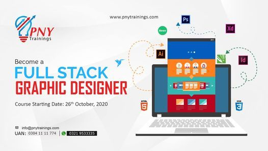 Become a Full Stack Graphic Designer (Arfa Tower), 26 October | Event in Gujranwala | AllEvents.in