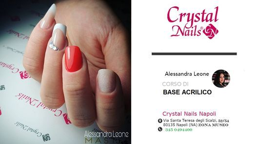 CORSO BASE ACRILICO CRYSTAL NAILS, 19 May | Event in Napoli | AllEvents.in
