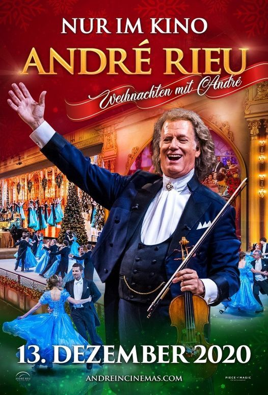 Broadway zeigt: André Rieu - Weihnachten mit André, 13 December | Event in Trier | AllEvents.in