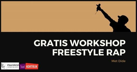 Gratis Workshops Freestyle Rap, 14 November   Event in Kortrijk   AllEvents.in