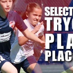 202122 Select Soccer TryoutsPlayer Placements U13-U19