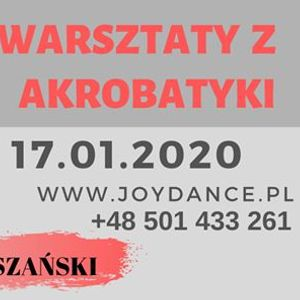 Warsztaty z Akrobatyki  Tomasz Koszaski