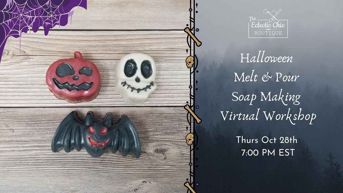 Halloween Melt & Pour Soap Making Virtual Workshop, 28 October   Online Event   AllEvents.in