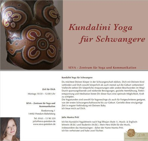 Yoga für Schwangere, 8 March | Event in Potsdam | AllEvents.in