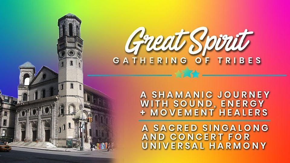 Great Spirit - A Sound Healing Journey & Concert for Universal Harmony, 24 April | Event in New York | AllEvents.in
