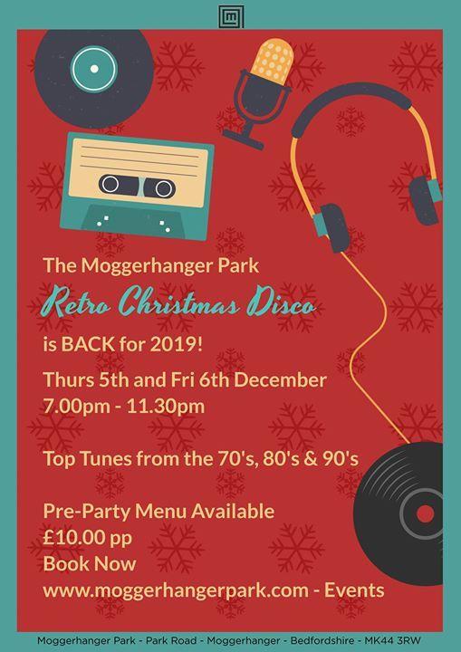 The Retro Christmas Disco is BACK