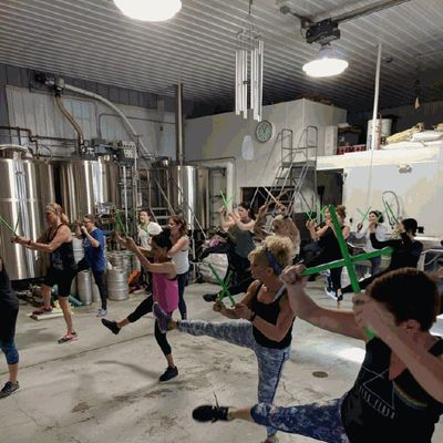 Pound & Pour at Glenmere Brewing  ROCKOUT. WORKOUT.