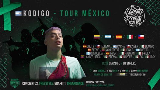 kodigo en México y más artistas | Event in Naucalpan | AllEvents.in