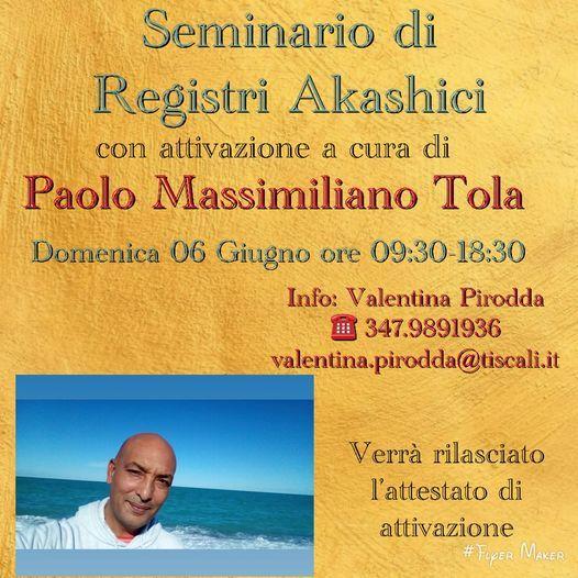 Registri Akashici Corso D'Iniziazione, Cagliari, 6 June | Event in Cagliari | AllEvents.in