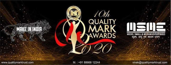 Quality Mark Awards 2020, 30 October | Event in Ahmedabad | AllEvents.in