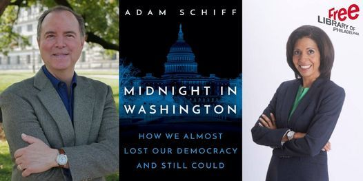 VIRTUAL - Adam Schiff | Midnight in Washington: How We Almost Lost Our Democracy and Still Could, 18 October