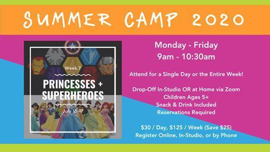 Summer Camp Week 7 (July 13 - July 17)
