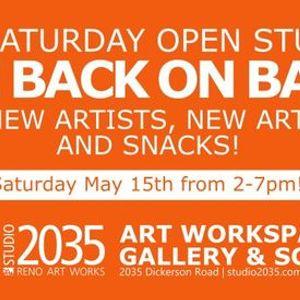 3rd Saturday Open Studios & Art Sale