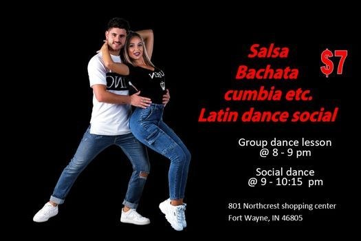 Tuesday Salsa Passion - Group Dance Lesson and Latin Social Dance - $7 | Event in Fort Wayne | AllEvents.in
