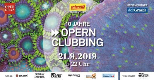 Opernclubbing 2019 - 10 Years Special Edition