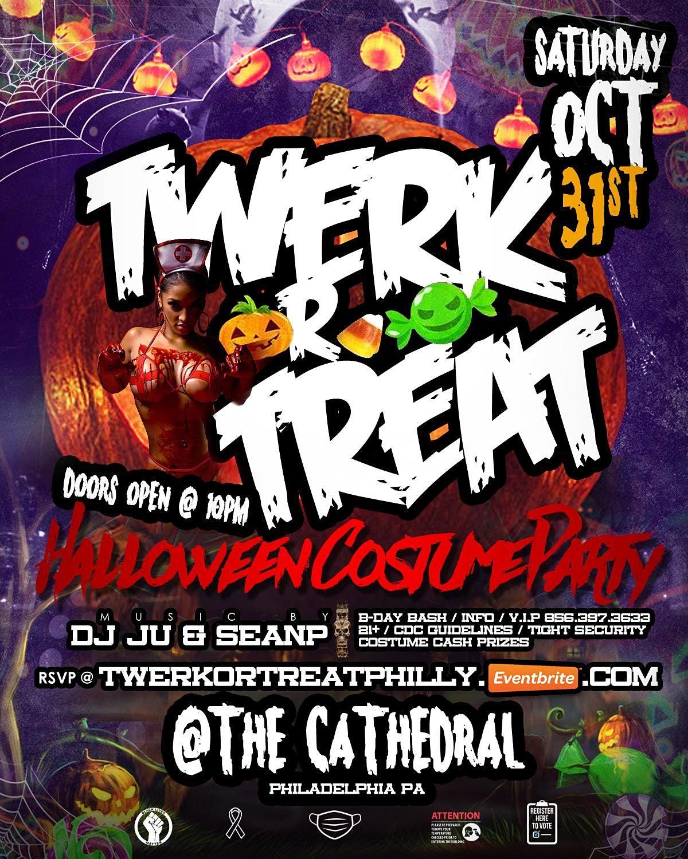 Philadelphia Halloween Events October 31 2020 TWERK OR TREAT HALLOWEEN COSTUME PARTY, @ THE CATHEDRAL
