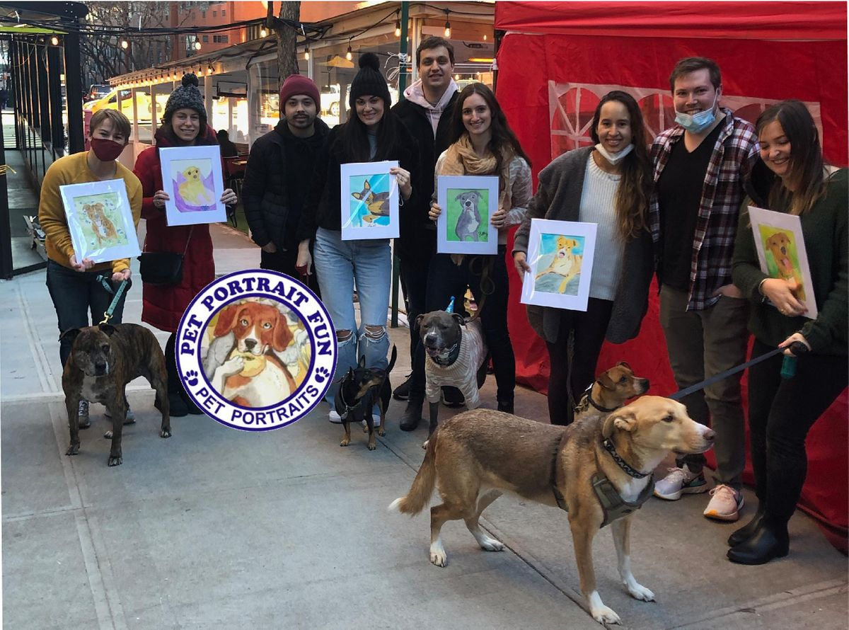 Paint and Sip  Pet Portrait Fun- Barking Dog New York | Event in New York | AllEvents.in
