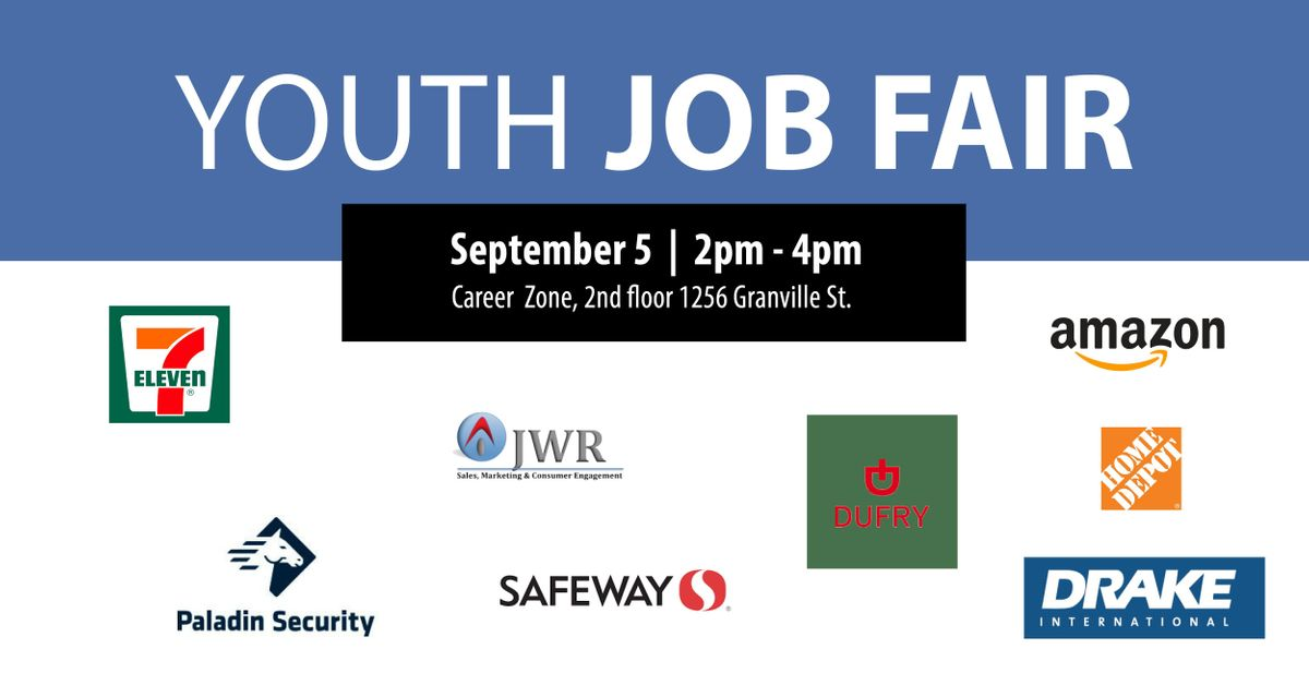 Youth Job Fair at Career Zone, Vancouver