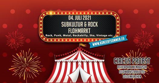 Subkultur & Rock Flohmarkt, 4 July | Event in Duisburg | AllEvents.in
