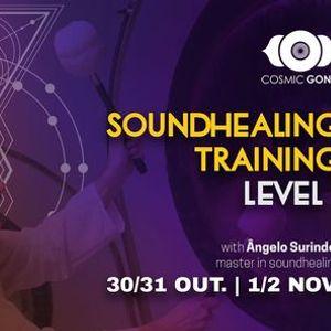 Formao de Soundhealing com ngelo Surinder