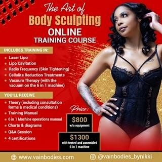 Art of Body Sculpting Online Training Class - Newark | Event in Newark | AllEvents.in