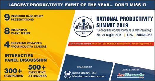 Productivity Championships Awards 2019