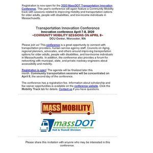 2020 MassDOT Transportation Innovation Conference