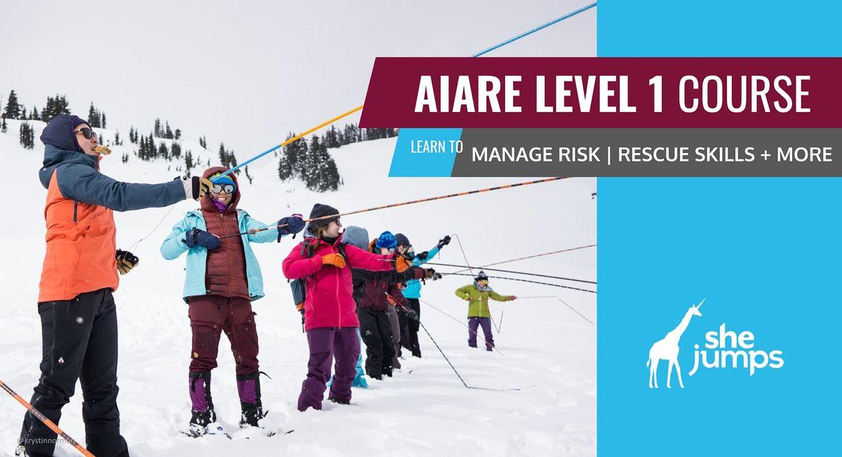 WA SheJumps AIARE Level 1: Rainier, 19 December | Event in Paradise | AllEvents.in