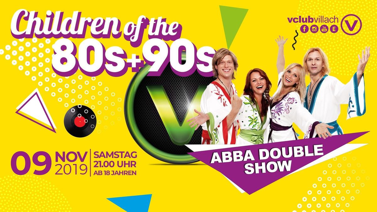 Children of the 80s  90s - The Real ABBA Tribute