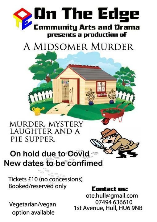 M**der Mystery Evening, 20 May | Event in Kingston upon Hull | AllEvents.in