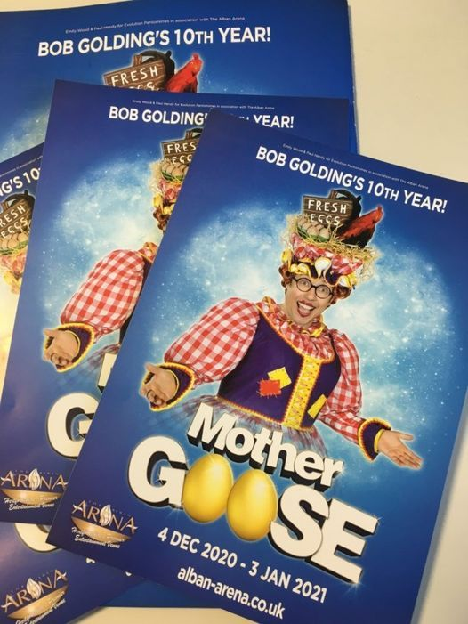 Mother Goose at St Albans Arena, 12 December | Event in Saint Albans | AllEvents.in