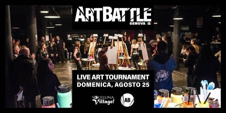 Art Battle Genova - Albissola Marina (SV) - 25 agosto 2019