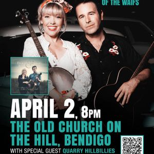 Felicity Urquhart and Josh Cunningham (The Waifs) live at The Old Church on the Hill Bendigo