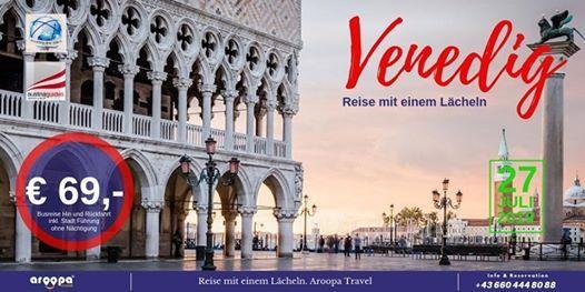 Busreise nach Venedig nur  69- ohne Nchtigung