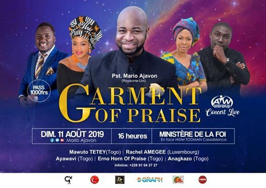 Rccg tabernacle of praise events in the City  Top Upcoming Events